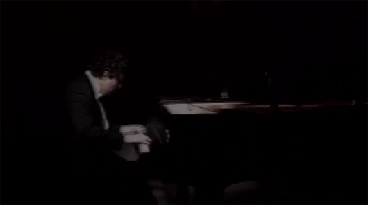 Alexander Peskanov hands playing piano