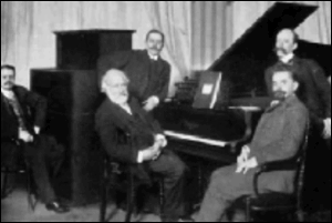 Leschetizky with his students