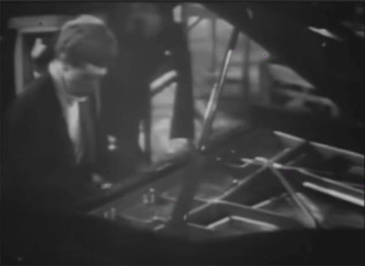 Van Cliburn pianist playing Rachmaninoff third piano concerto